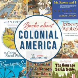 Images of Colonial Books for Kids