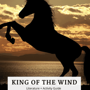 King of the Wind Book Guide Cover Image with Horse
