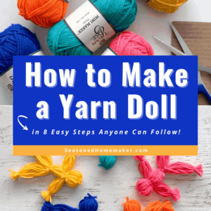 How to Make a Yarn Doll Pin