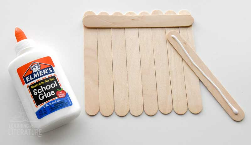 Craft Stick Raft Supplies