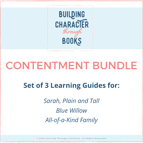 Building Character Through Books: Contentment Bundle