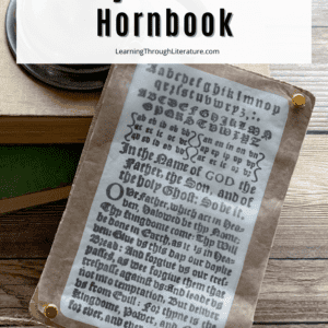 Pin Image - How to Make a Colonial Hornbook
