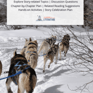 Stone Fox - Book Guide - Dogsledding Pin