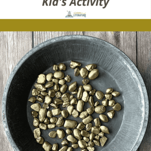 Panning for Gold Kid's Activity Pin