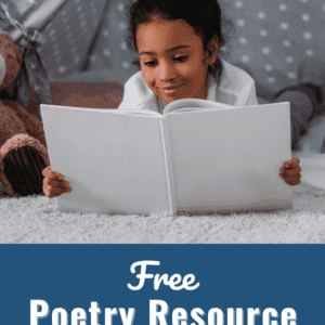 Free Poetry Resource for Kids Pin