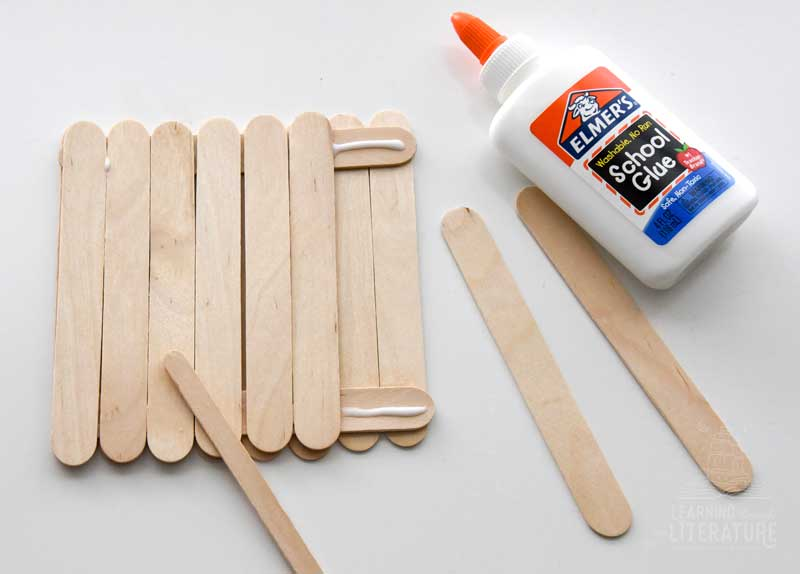 Craft Stick Raft