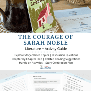 The Courage of Sarah Noble - Book Guide