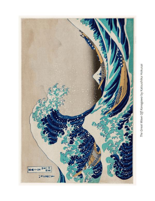 Hokusai Art