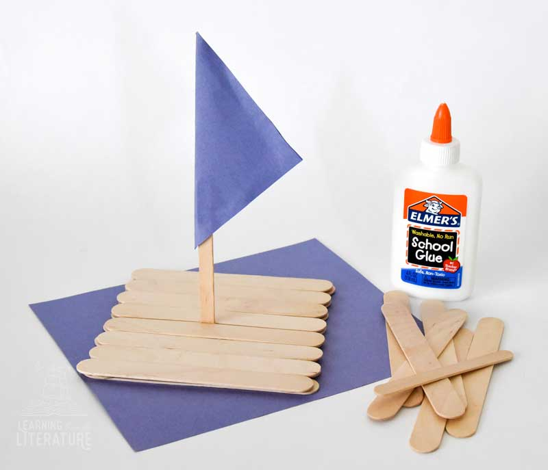 How to Make a Craft Stick Raft