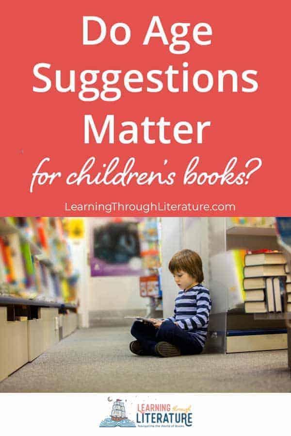Do Age Recommendations Matter for Children's Books?