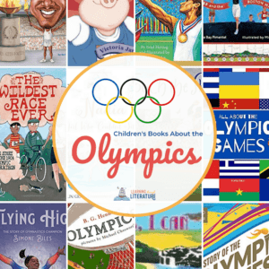 Summer Olympics Books for Kids Pin
