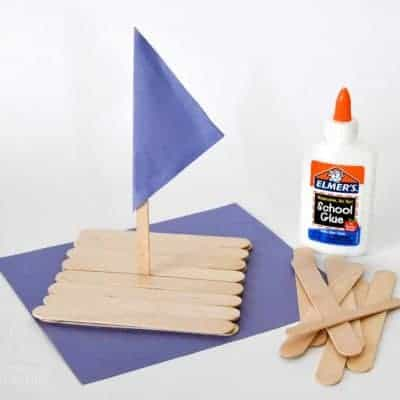 Craft Stick Raft Tutorial