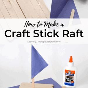 How to Make a Craft Stick Raft