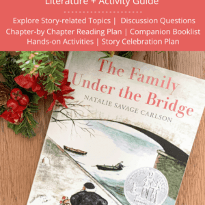 The Family Under the Bridge - Book Guide Pin Image