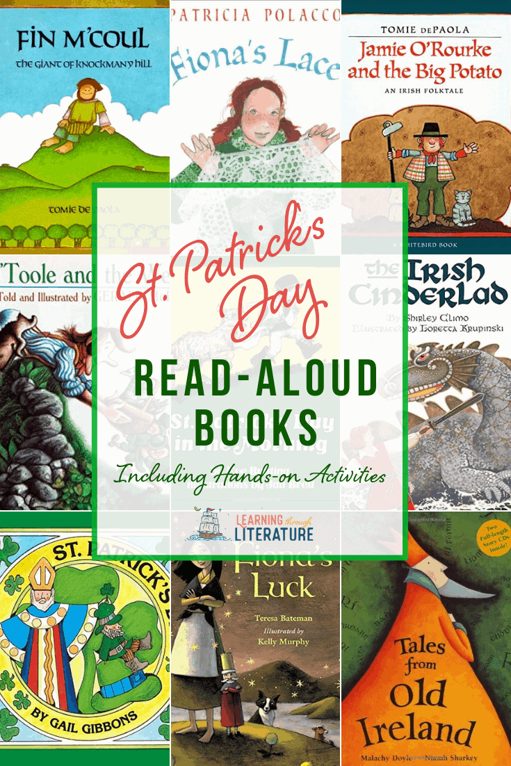 St. Patrick's Day Picture Books for Young Children + FREE Learning Guide