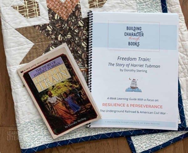 Freedom Train Book Guide Cover