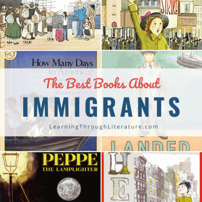 Children's Books about Immigrants + Immigration Experiences