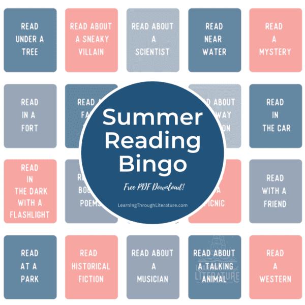 Summer Reading Bingo + FREE Printable