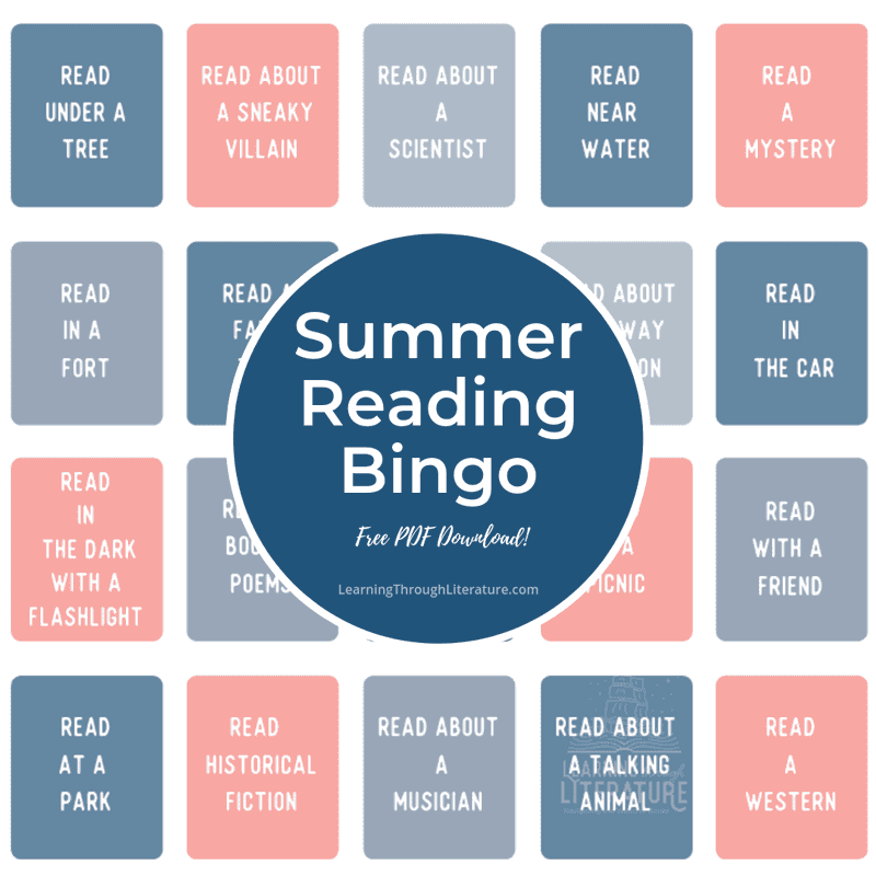 Summer Reading Bingo + FREE Printable