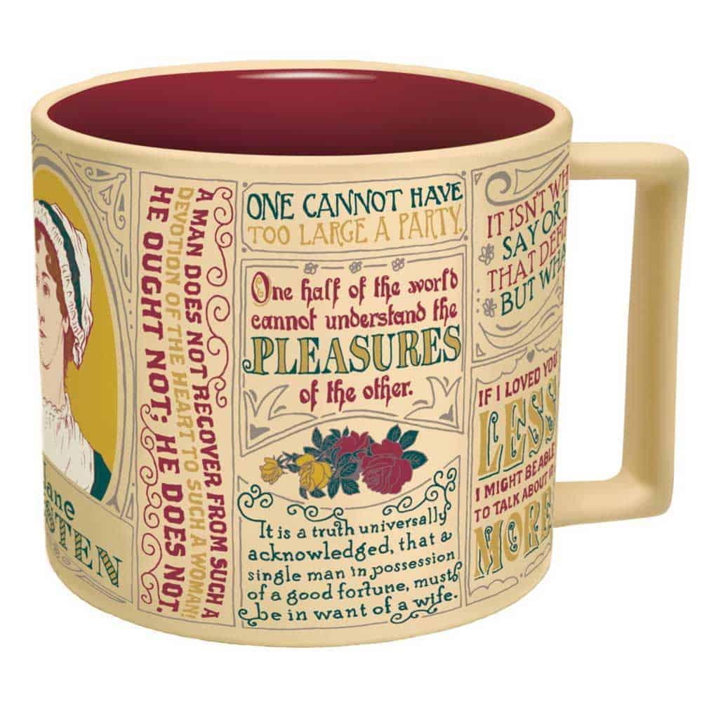 Jane Austen Quotes Mug