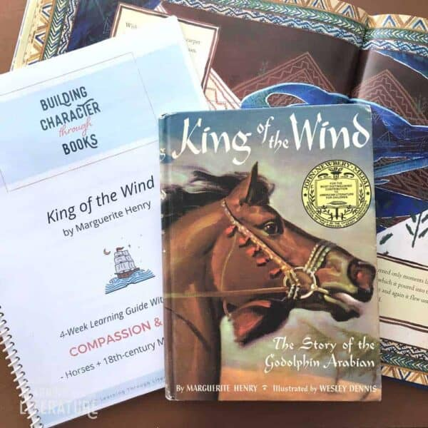 King of the Wind Book Guide - book+guide layout