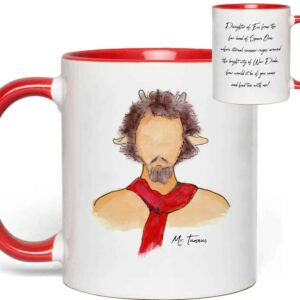 Mr. Tumnus Quote Mug from The Lion, the Witch, and the Wardrobe