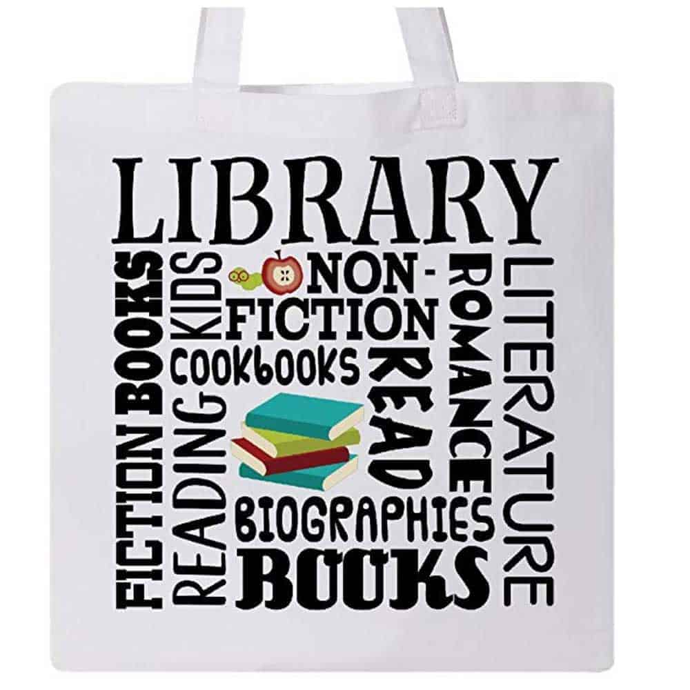 Library Style Tote