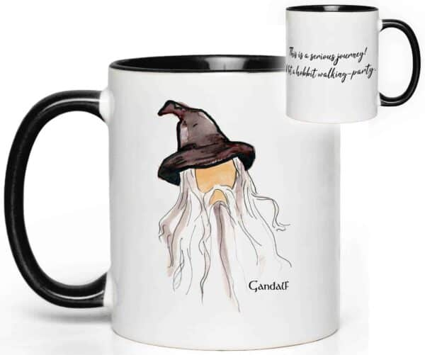 Gandalf Quote Mug from Lord of the Rings