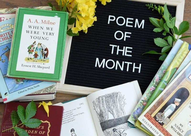 Learning Through Literature Poem of the Month