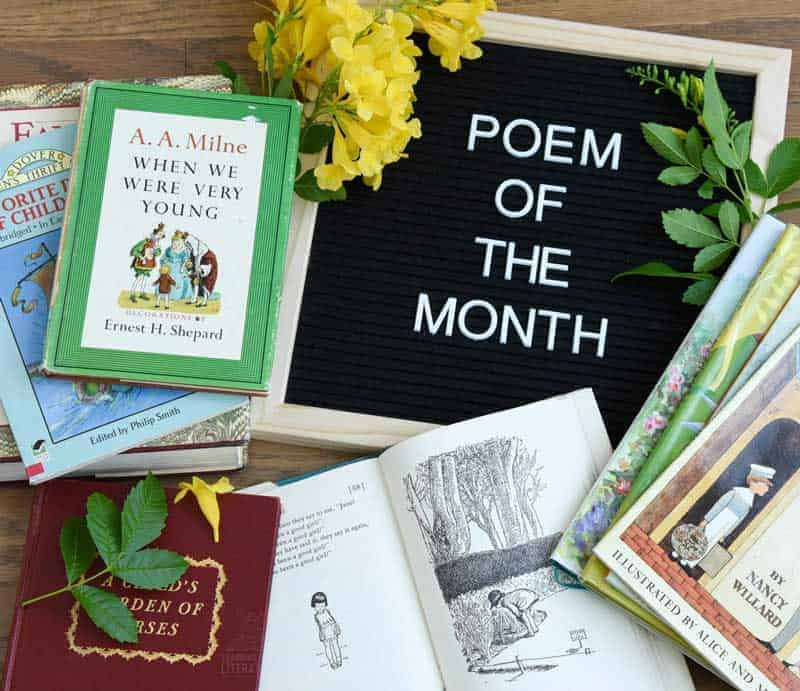 Poem of the Month - FREE Monthly Resource