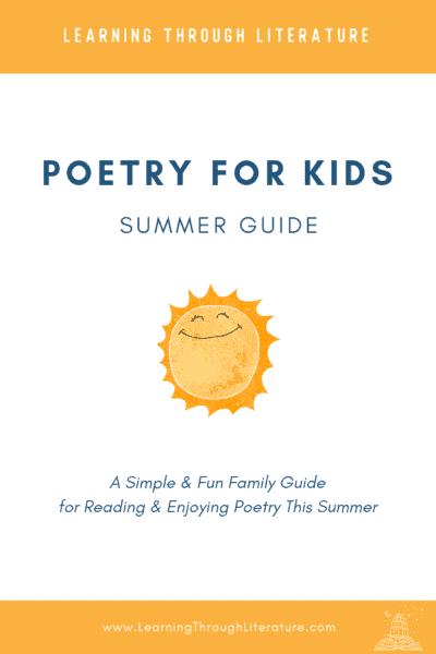 Poetry for Kids Summer Guide