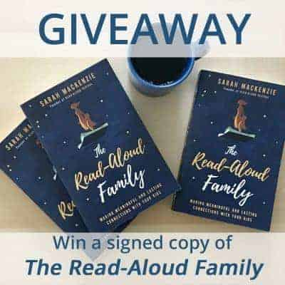 ** Giveaway ** Signed Copy of The Read Aloud Family by Sarah Mackenzie + A Video Review