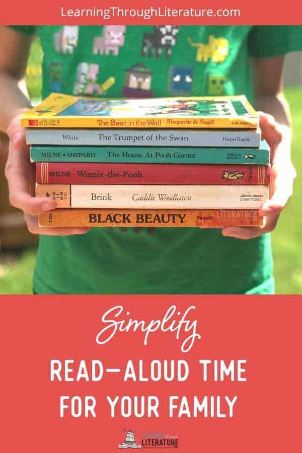 How To Simplify Read-Aloud Time For Your Family
