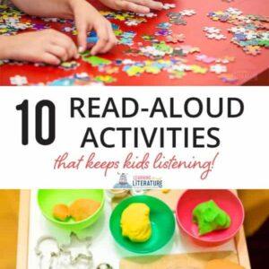 Read Aloud Activities Your Kids Will Love