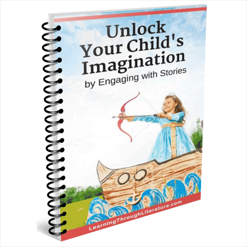 Unlock Your Child's Imagination by helping them engage with stories.