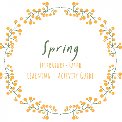 Spring Book List + Learning and Activity Guide