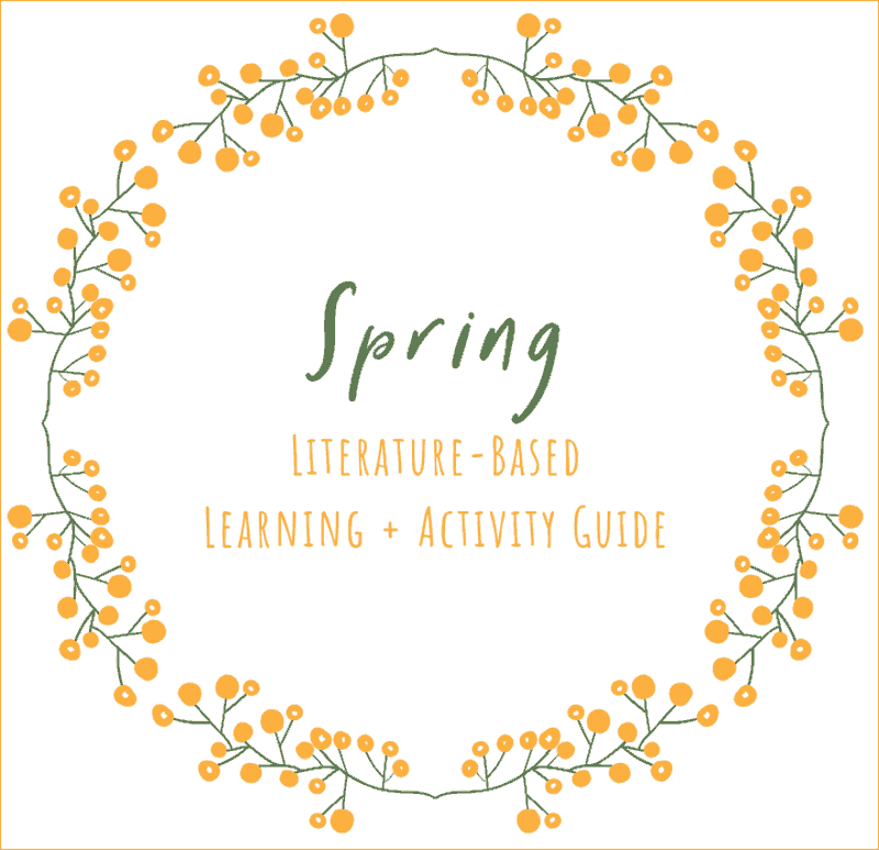 Learn About Spring with Great Books + FREE Spring Unit Download
