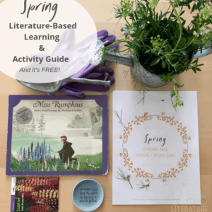 You're going to love our Spring Book List + Learning and Activity Guide. These read-aloud books are perfect for welcoming Spring and celebrating Earth Day.