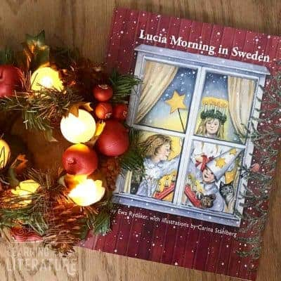 Christmas Picture Books + FREE St. Lucia Day Activity Guide