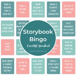 Storybook Bingo