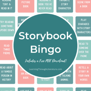 Storybook Bingo + FREE Printable