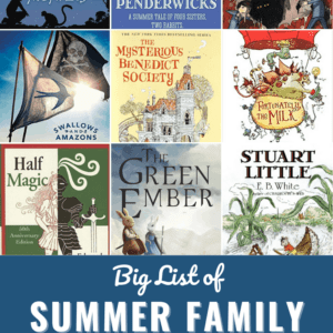 Big List of Family Summer Read-Alouds Pin
