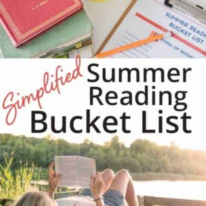 Start your kids summer reading off in the right direction with an achievable summer reading bucket list.