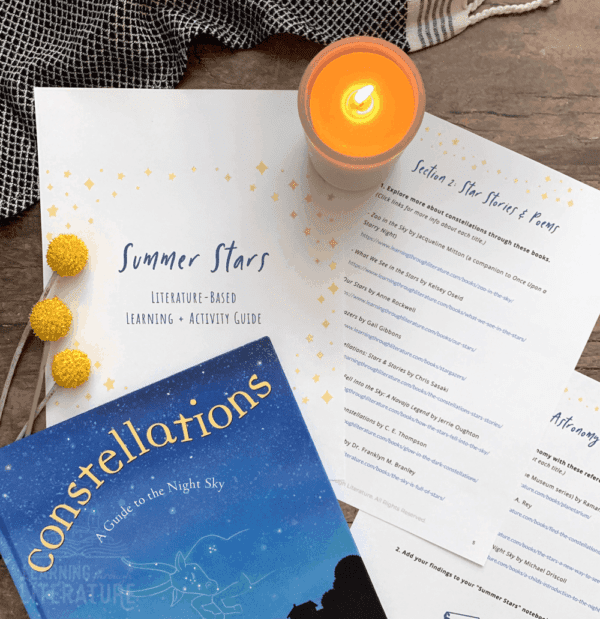 Astronomy Activities for Kids + Constellation Book