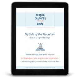 My Side of the Mountain Book Guide iPad Cover